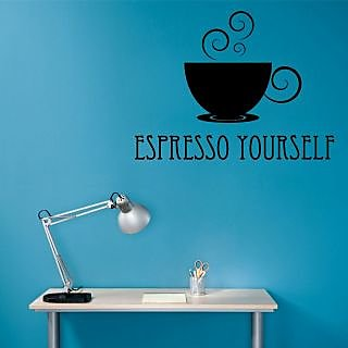 Creatick Studio Expresso Yourself Wall Decal