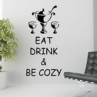 Creatick Studio Eat Drink  Be Cozy Wall Decal