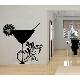 Creatick Studio Wine Glass Wall Decal
