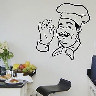 Creatick Studio Chef Print Wall Decal
