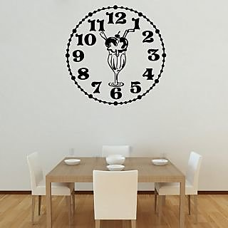 Creatick Studio Knickerbocker Glory Clock Wall Decal