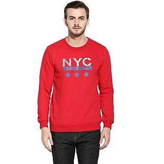 Rigo Men's Red Sweatshirt