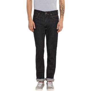 Canary London Black Cotton Men's Clean Look Slim Fit Jean