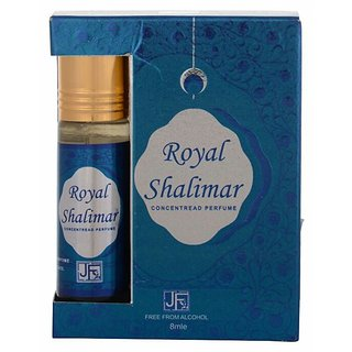 Roll On PERFUME Royal Shalimar 8ML  (FREE FROM ALCOHOL) BY SARANG