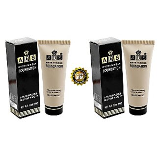 ADS white Invisible Foundation Buy 1 Get 1 Free