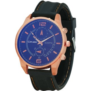 Crude Smart Analog Watch-rg404 With PU Strap for -Men's  Boy's