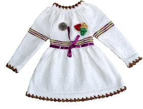 Handmade woolen baby Skirt
