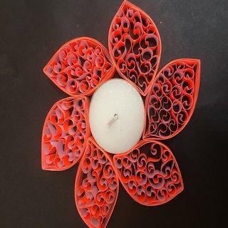 handmade paper candle holder