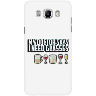 Dreambolic My Doctor Says I Need Glasses Mobile Back Cover