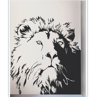 Creatick Studio Decal Style  Lion Wall Sticker