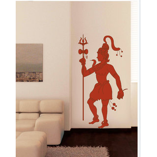 Creatick Studio Decal Style  Shiva Wall Sticker