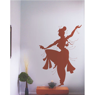 Creatick Studio Decal Style  Surya Namaskar Wall Sticker