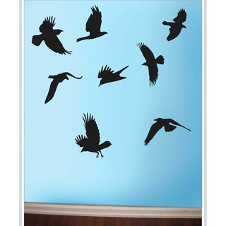 Creatick Studio Decal Style  Birds Wall Sticker