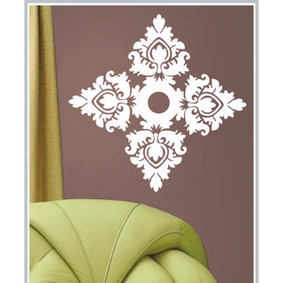 Creatick Studio Decal Style  Floral Pattern Wall Sticker