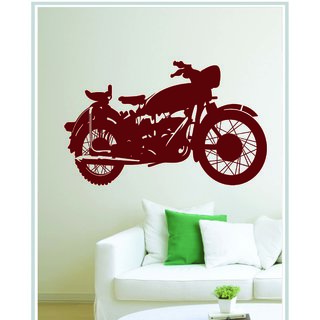 Creatick Studio Decal Style Vinatge Bike Wall Sticker