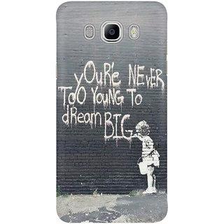 Dreambolic Dream Big Mobile Back Cover
