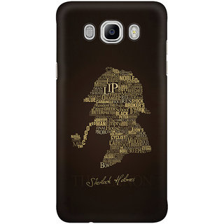 Dreambolic Sherlock Holmes Mobile Back Cover