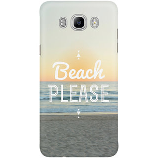Dreambolic Beach Please Graphic Mobile Back Cover