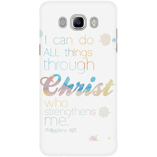 Dreambolic I Can Do All Things Through Christ Mobile Back Cover