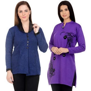 Winter Blazer with free Kurti- Sanvi Traders