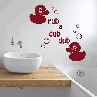 Creatick Studio Rub A Dub Dub Wall Decal