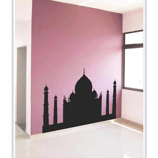 Creatick Studio Decal Style  Taj Mahal Wall Sticker