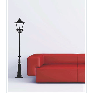 Creatick Studio Decal Style  Lamp Post Wall Sticker