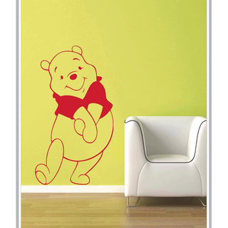 Creatick Studio Decal Style  Pooh Wall Sticker