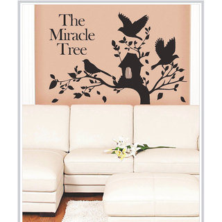 Creatick Studio Decal Style  The Miracle Tree Wall Sticker