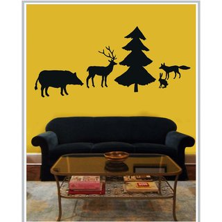 Creatick Studio Decal Style  Christmas Time Wall Sticker