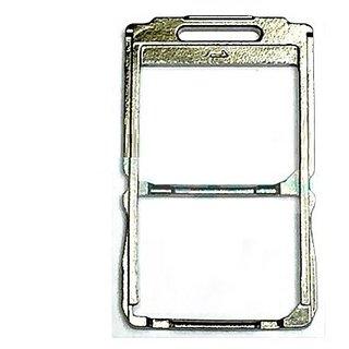 Replacement SIM Card Holder Sim Tray for Sony Xperia M5 Dual E5633 E5643 E5663 Silver