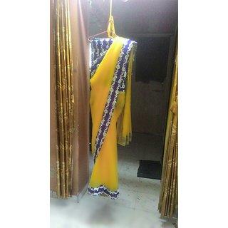 Jayendra Yellow Zari Tissue