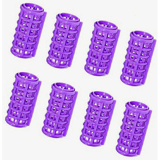 Plastic Hair Roller Curler 30mm Pack of 8