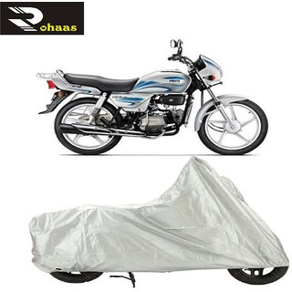 Hero Splendor Bike cover Silver
