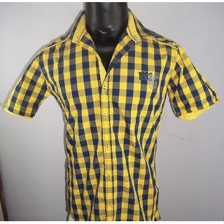 Ridzee Men's Half Sleeves Shirt