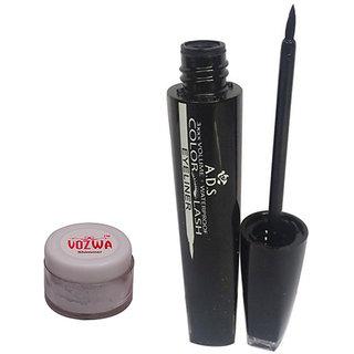 Vozwa Silver Shimmer Powder With Eyeliner-(SilverShimmer1609E)