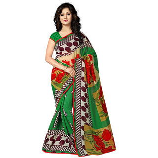 Grihlaxmi Green Georgette