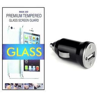 Tempered Glass Screen Protector Samsung Galaxy Note II N7100  With CAR ADAPTER