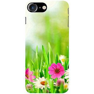 Casotec Spring Floral Pattern Design 3D Printed Hard Back Case Cover for Apple iPhone 7