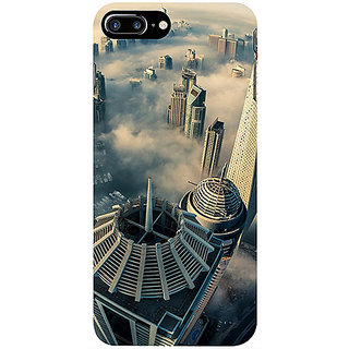 Casotec City Scapes Design 3D Printed Hard Back Case Cover for Apple iPhone 7 Plus