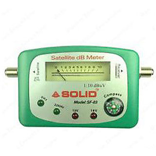 Satellite Signal Finder DB Meter With Compass For All Full-HD Dish T V  Network