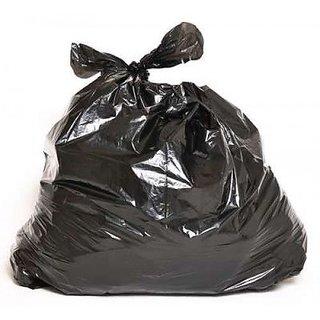 90pcs Disposable Garbage / Dust Bin Bag 19x21 - Black