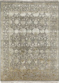 Classic Hand Knotted Ashwood Wool  Silk Area Rugs By Jaipur Rugs