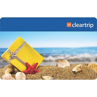 Cleartrip Gift Card (Worth INR 10000)