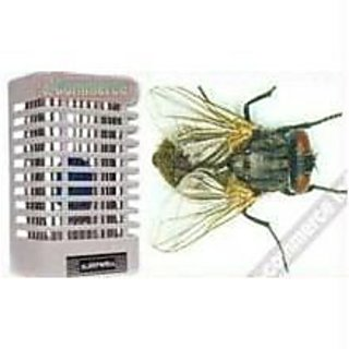 White Electric Housefly Killer With Night Lamp