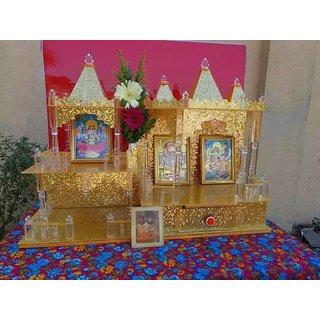 Beautiful Stylish Acrylic Home Temple