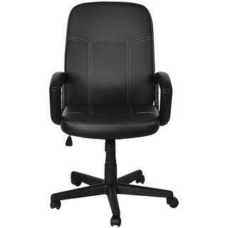 Nilkamal Mayor Mid Back Office Chair - Black