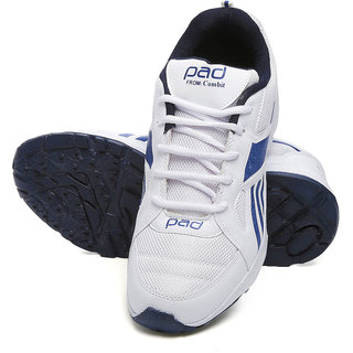 Buy Combit White and Blue Sport Shoes