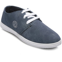 Combit Stylish Navy-White Sneakers For Men