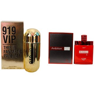 Ramco Exotic  919 VIP and Ambition Combo Perfume 100ML100ML